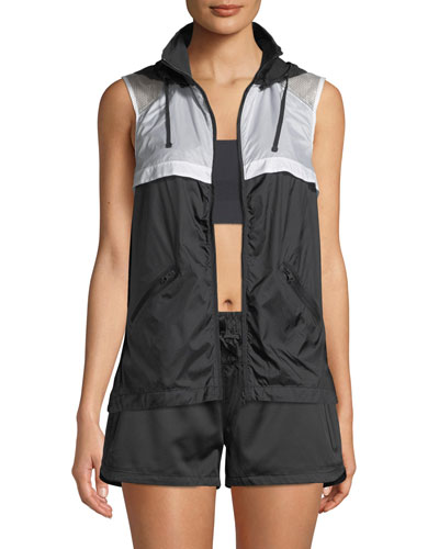 Moonlight Hooded Mesh Vest