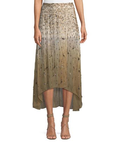 Criminal Love Slayer Embellished Skirt