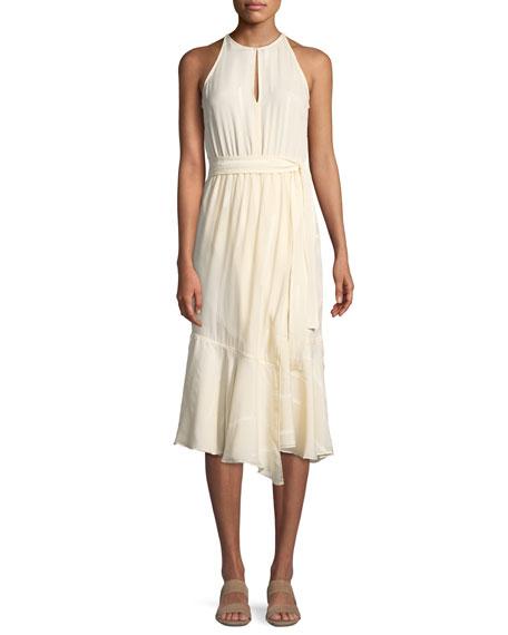 0f51b7996f8189 Derek Lam 10 Crosby Asymmetric Silk Tank Dress. Asymmetric Silk Tank Dress