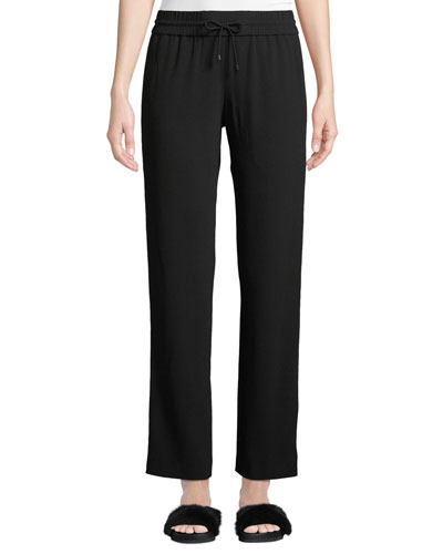 Side-Stripe Drawstring Track Pants