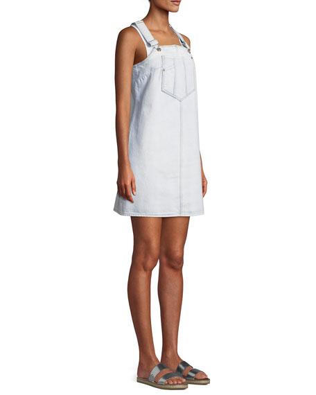 Dungaree Denim Mini Dress