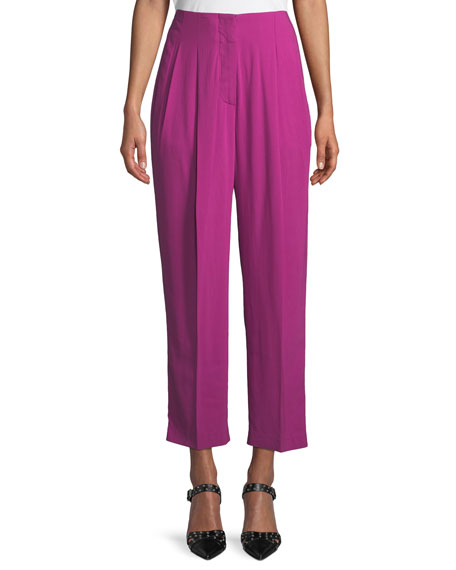 3.1 Phillip Lim Pleated High-Rise Trousers