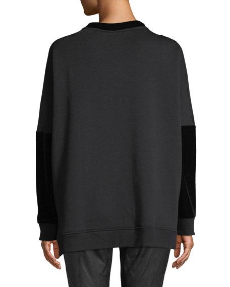 Chantae Knit Sweater w/ Tiger Detail