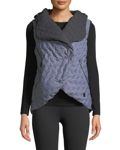 Cryos Down-Fill Quilted Cocoon Vest