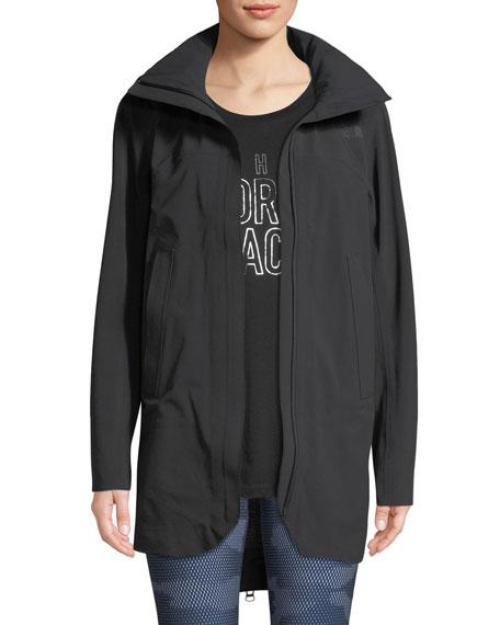 THE NORTH FACE Apex Flex Gtx Zip-Back Trench Coat in Black