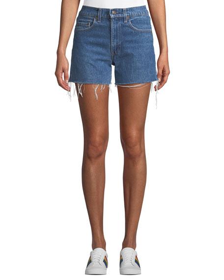 Vintage One-of-a-Kind Cutoff Denim Shorts