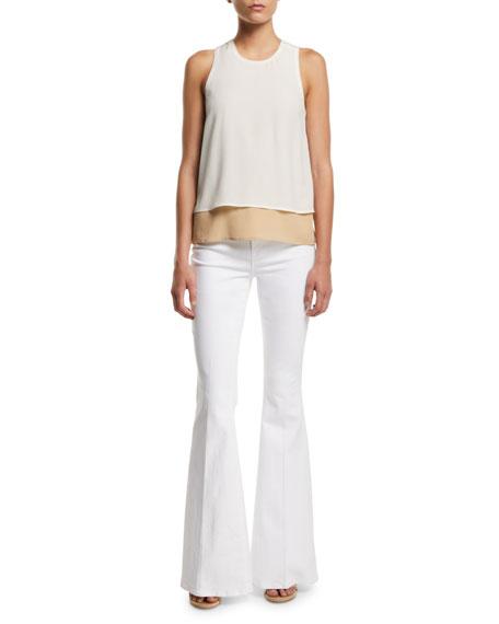 Solana Flare-Leg Jeans