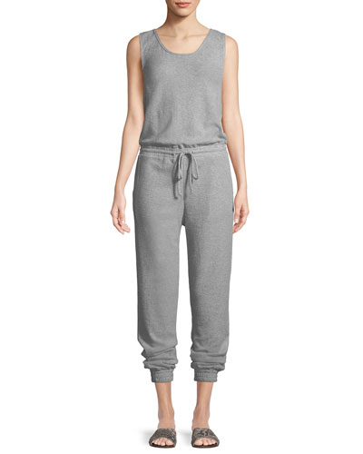Gabrielle Sleeveless Cotton Jumpsuit