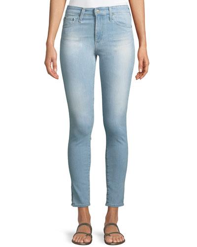 Farrah High-Rise Ankle Skinny Jeans