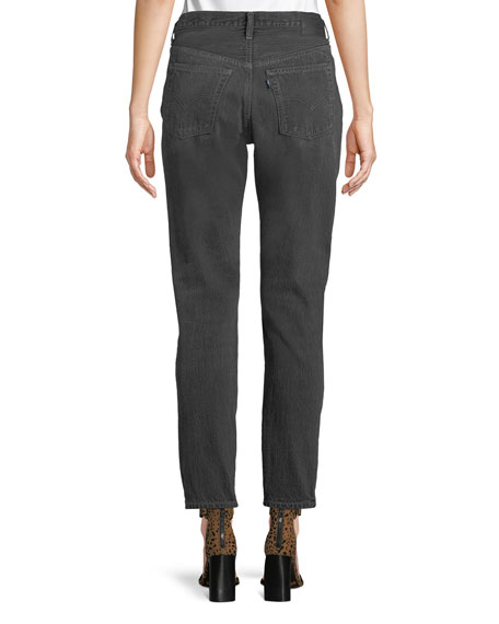 501 High-Rise Skinny Ankle Jeans