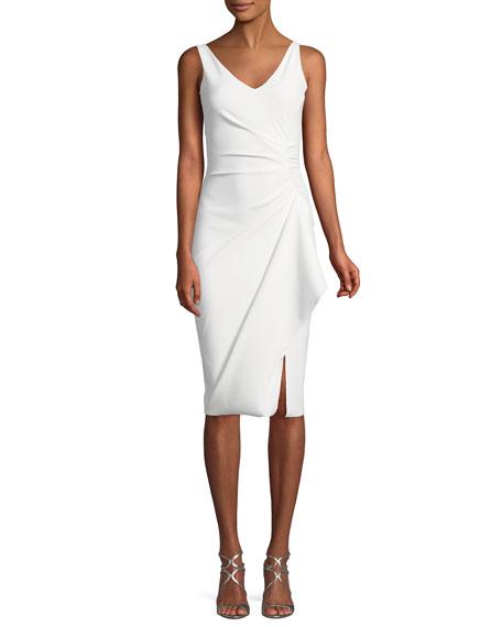 b15f78dd Chiara Boni La Petite Robe Kloty Asymmetric Ruffle Cocktail Dress