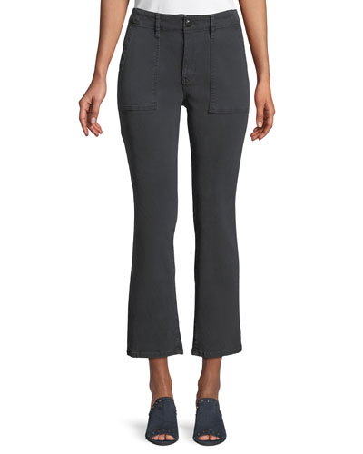 The Army Nerd Mid-Rise Cropped Pants