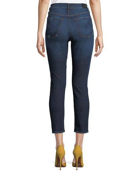 Holly High-Rise Skinny Cropped Jeans