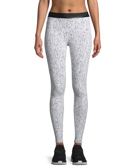 Molecular Sloane Mid-Rise Activewear Leggings