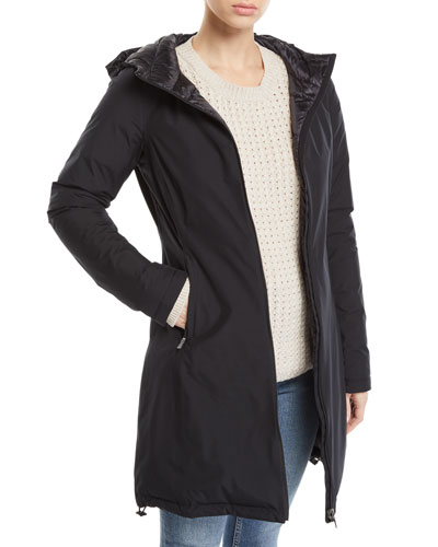 Hooded Reversible Gore-Tex® Rain Coat