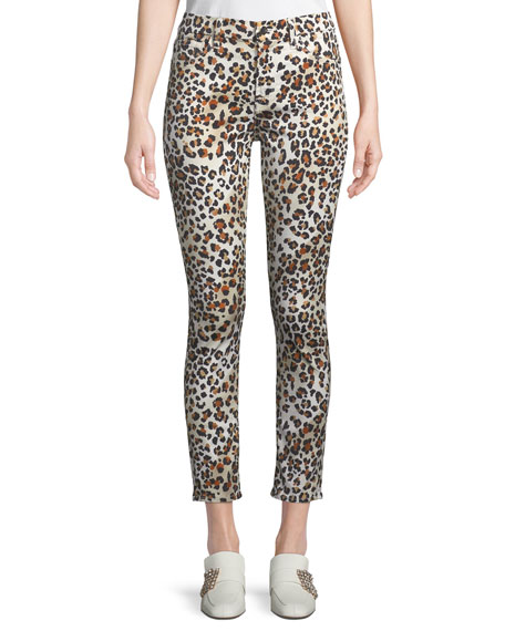 Jen7 by 7 for All Mankind Sunkissed Animal-Print