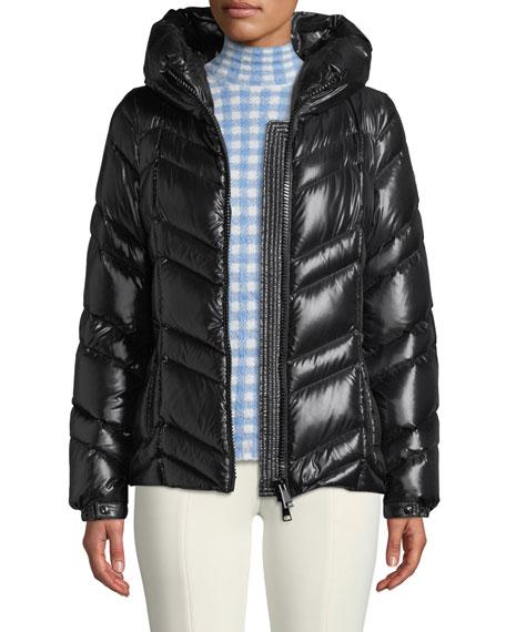 9c74d48d8 Fuligule Chevron Puffer Coat w/ Hood