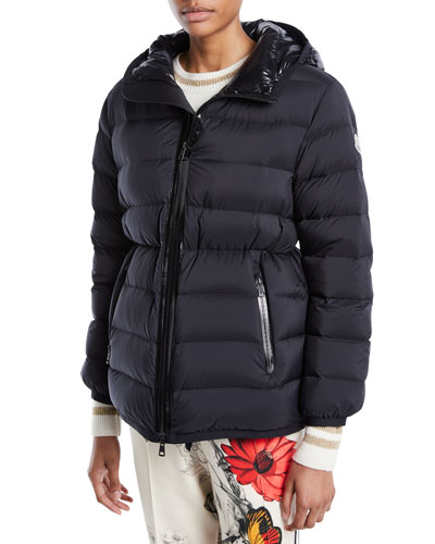 Goeland Cinched Puffer Jacket