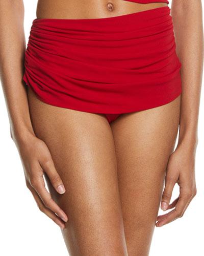 Diana Shirred Bikini Bottom