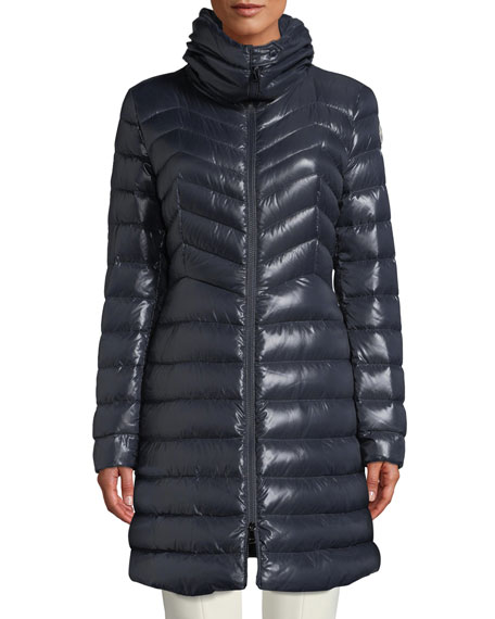 b9f63651b Faucon Fitted Puffer Coat