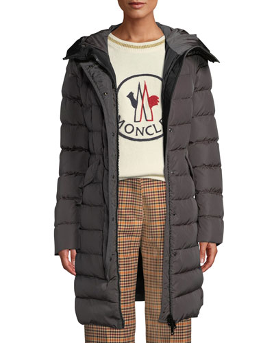 Grive Long Puffer Coat w/ Hood