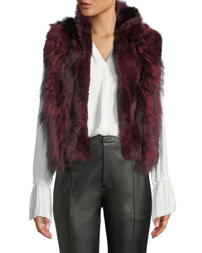 Short Fur Vest