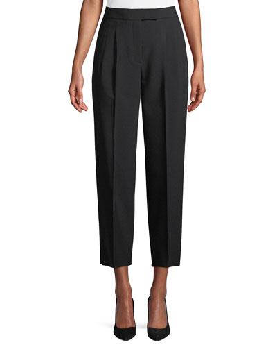 City Pants Tapered-Leg Cropped Prospective Light Pants