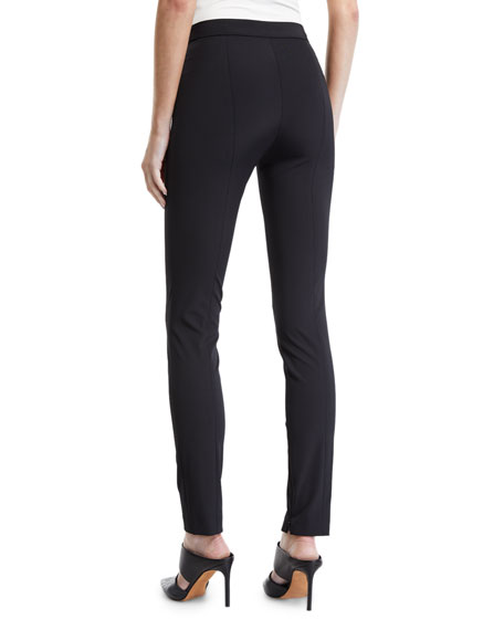 High-Waist Side-Zip Leggings - Recycled Becker