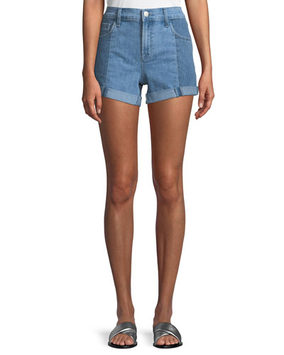 Johnny Mid-Rise Denim Shorts