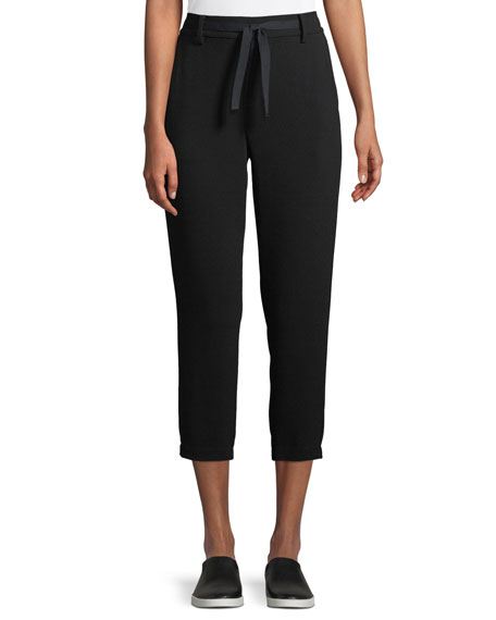 Easy Cropped Pull-On Pants