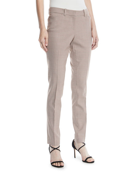 Lafayette 148 New York Manhattan Skinny-Leg Haberdashery Mini