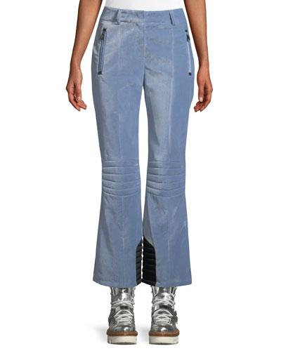 Velvet Pants w/ Zip Pockets