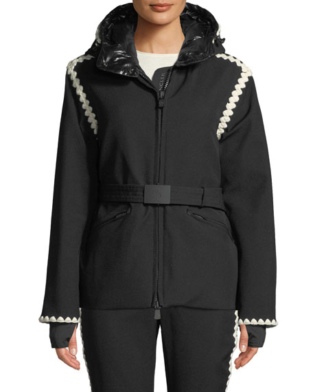 600fc0111 Moncler Grenoble Bourget Jacket w  Contrast Details