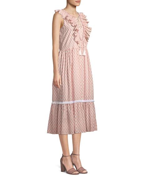 90c9ac84cb8 kate spade new york arrow stripe dress w  lace-up front