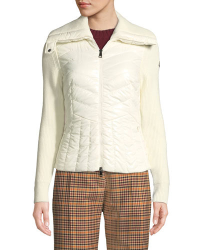 Maglione Tricot Wool-Blend Cardigan