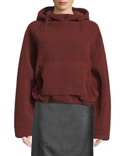 Cozy Drawstring Pullover Hoodie Sweatshirt
