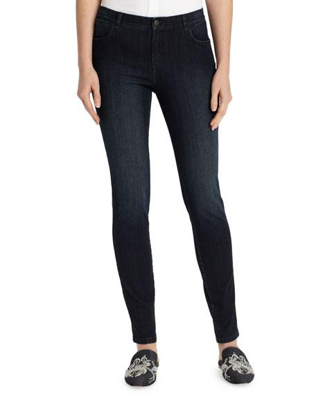 Lafayette 148 New York Mercer Stretch-Denim Slim-Leg Jeans
