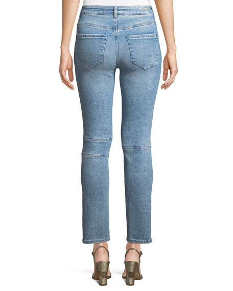 Kelly Sharon Willa Studded Skinny Ankle Jeans