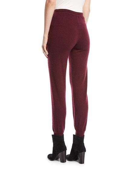 Cashmere Skinny Track Pants