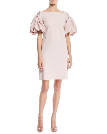 Chiara Boni La Petite Robe Isla Cold-Shoulder Dress