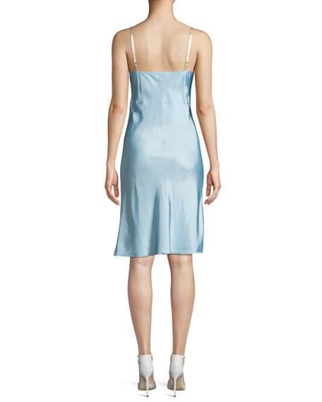 Compact Viscose Slip Dress
