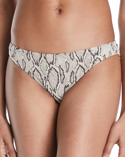 Wild Side Hipster Swim Bikini Bottoms