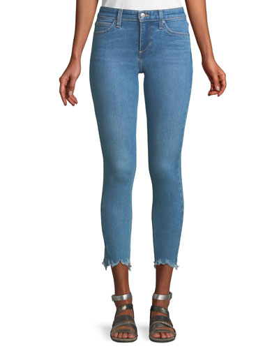 The Icon Skinny Jeans w/ Chewed Hem