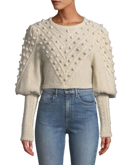 6aae8817c1c Zimmermann Fleeting Bauble Cropped Sweater