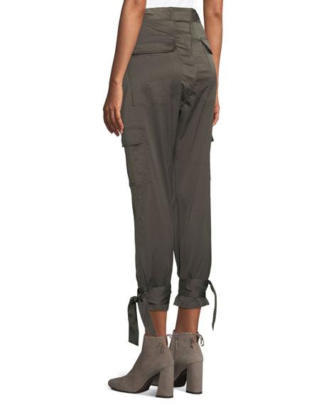 Erlette Cropped Cargo Pants