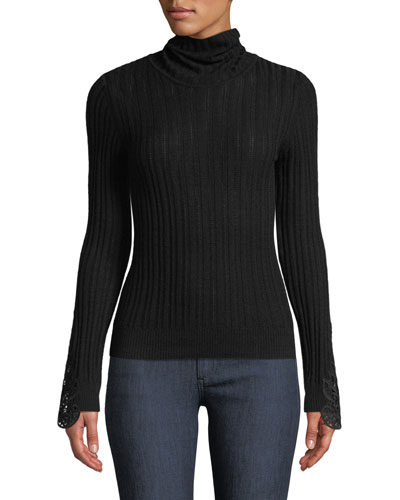 Zoelle Rib-Knit Sweater