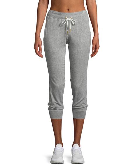 ALALA Heron Drawstring Mesh Jogger Pants in Gray