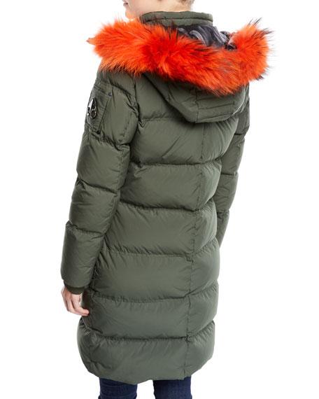 608e2589d Donnacona Long Parka Coat w/ Fur Trim & Hood