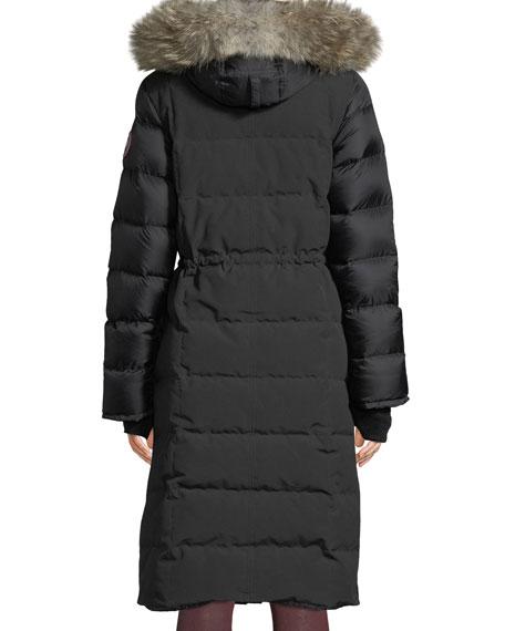 Lunenberg Long Parka w/ Fur Trim & Removable Hood