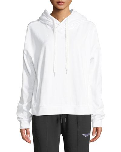 Monster Graphic Cotton Pullover Hoodie Sweatshirt